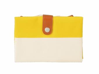 2WAYカラフルバッグを小さく折り畳んだ画像