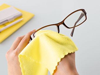 メガネ拭き。