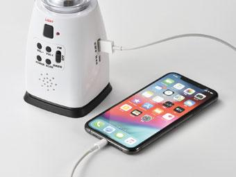 モバイル充電。