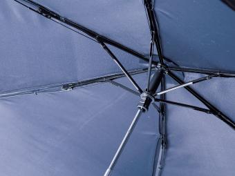 スリムボトル UV折りたたみ傘の内側骨組み部分アップ画像